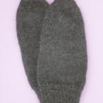 Техника вязания варежек, как вязать мужские варежки
