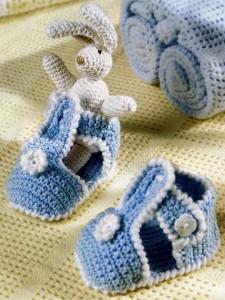 Голубые сандалии