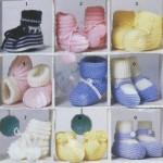 Вязаные пинетки коллекция