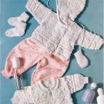 Жакет с капюшоном, Пуловер с воротником, Носки и варежки