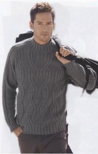 Серый свитер из BDF