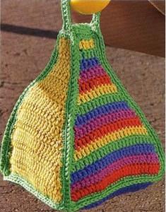 Цветная сумочка
