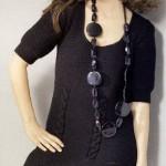 Платье вязаное в духе Коко