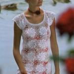Вязаное платье Вихрь