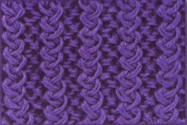 Вязание спицами резинка