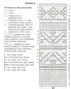 Схема узора 2