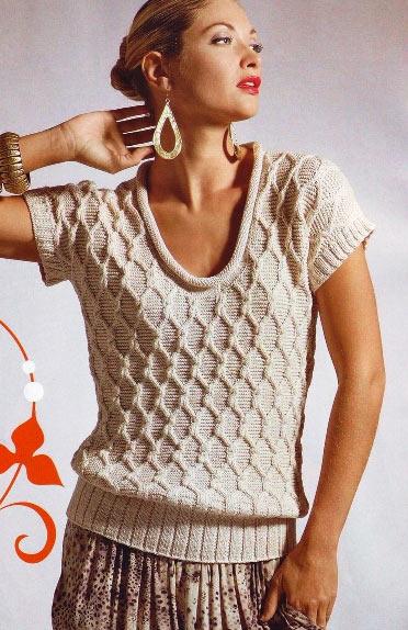 модные вязаные кофты 2013 5