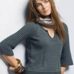 Великолепный вязаный пуловер
