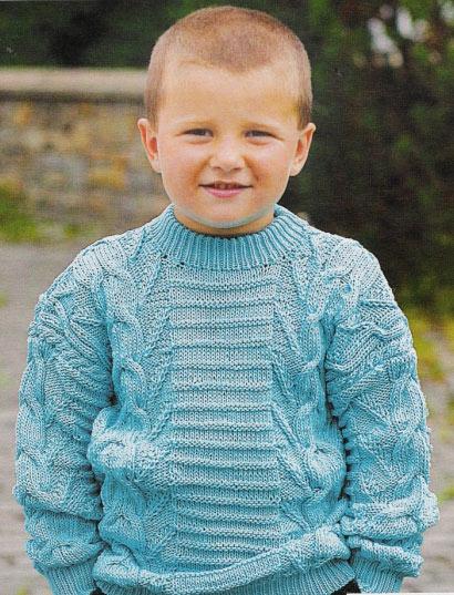 Вязаный свитер для мальчика | Вязание