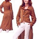 Незабываемое вязаное ажурное пальто