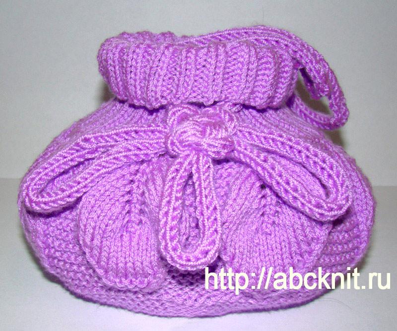 339ecc9eb0ac Сумочка с листьями   Вязание спицами и крючком – Азбука вязания