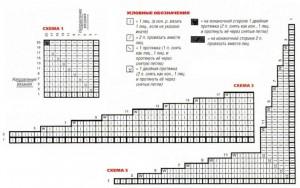 Схемы узоров для вязания жакета