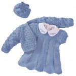 Болеро, платье и шапочка для девочки