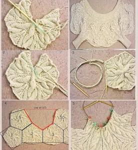 Инструкция вязания болеро
