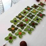Красивущие салфетки крючком из меланжевой пряжи