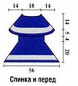 Выкройка вязаного крючком платья для девочки