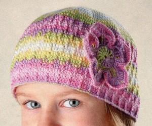Детская летняя шапочка