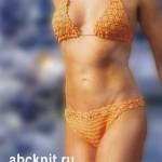 Вязаный купальник-бикини - исполнение желаний