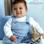 Комбинезон для малыша 6-9 месяцев