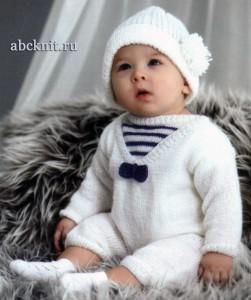 Вязание малышам модели схемы