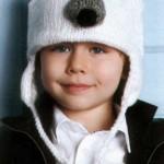 Детская шапка-медвежонок