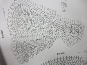 Схема салфетка крючком